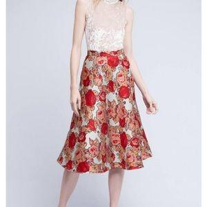 Rachel Antonoff  Rose Jacquard Skirt